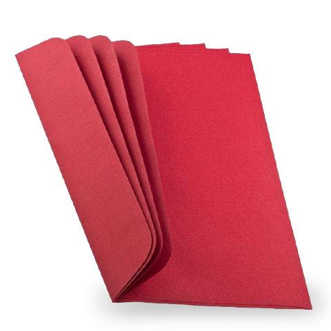 Weihnachtsbriefumschläge DIN lang Farbton bordeaux