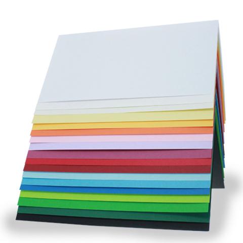 Blankokarten DIN A 6 in verschiedenen Farben